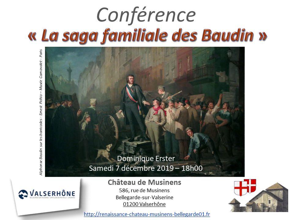 2019 12 07 La saga familiale des Baudin
