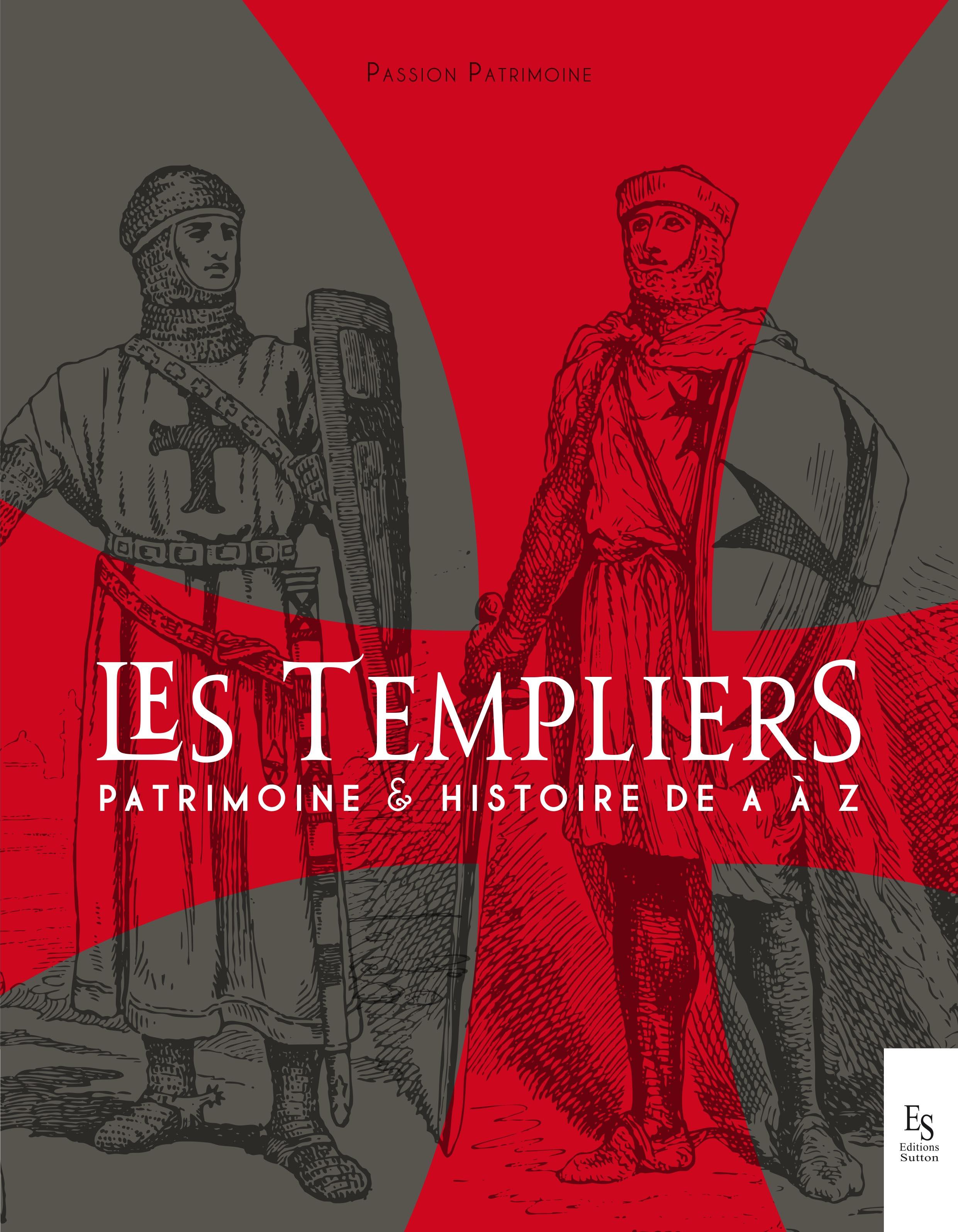 Couverture du livre Templiers PassionPatrimoine
