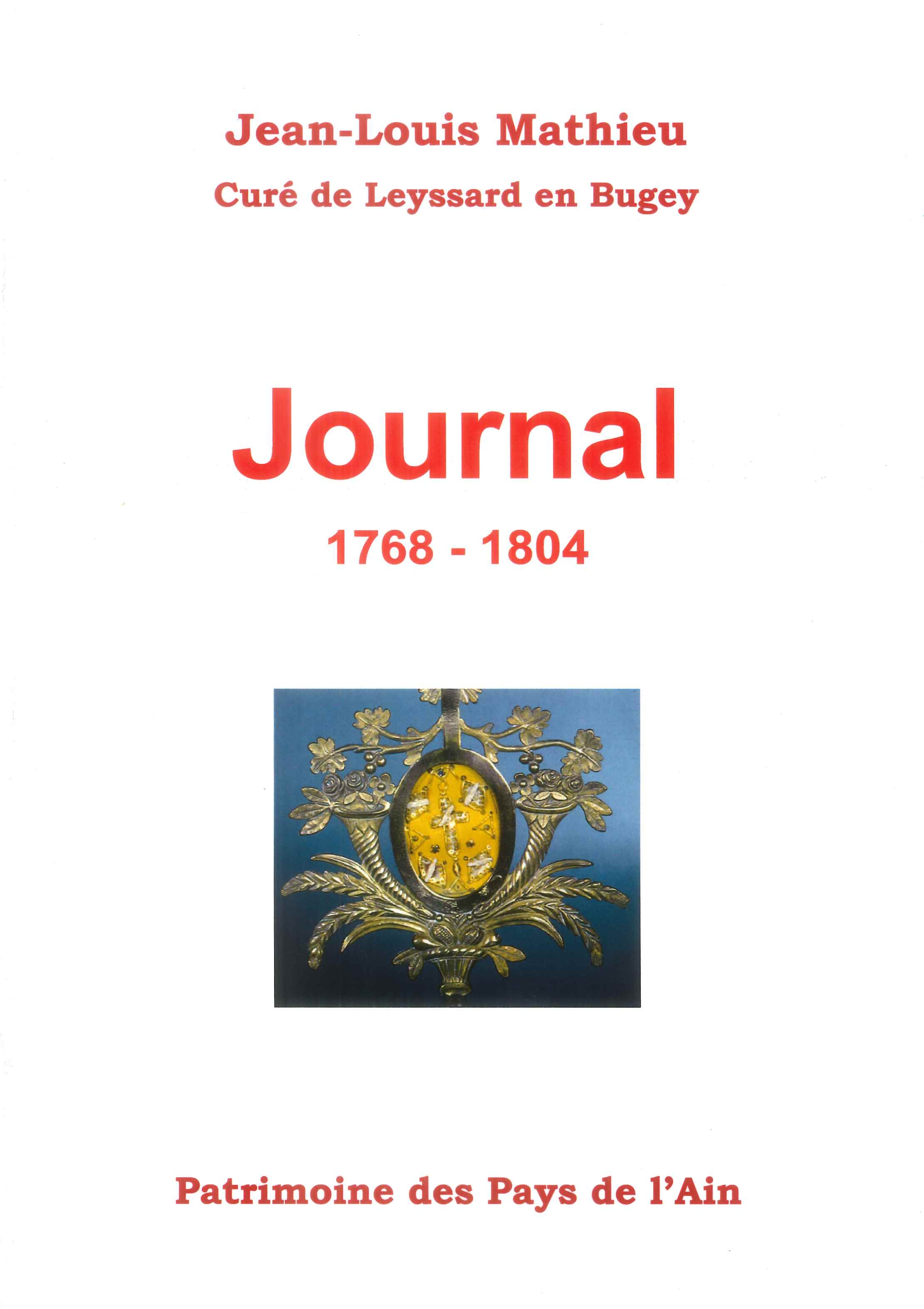 Journal Jean Louis Mathieu