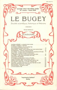 Revue Le Bugey n87