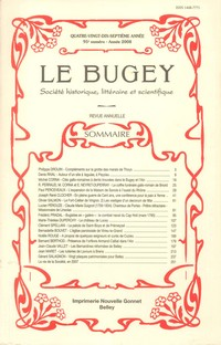 Revue Le Bugey n95