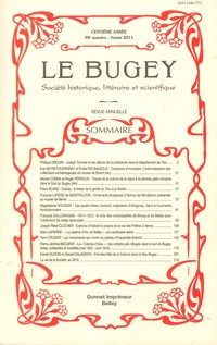 Revue Le Bugey n98