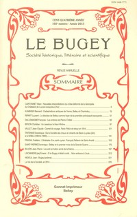 Revue Le Bugey n102
