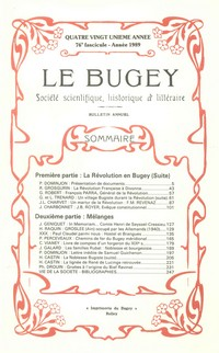 Revue Le Bugey n76