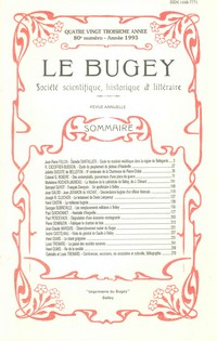 Revue Le Bugey n80