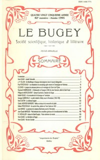Revue Le Bugey n82