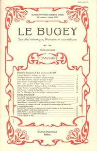 Revue Le Bugey n96