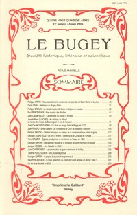 Revue Le Bugey n 93